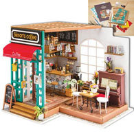 Simon's Coffee Shop Model Kit