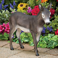 Diego The Donkey Motion Sensor Garden Sculpture