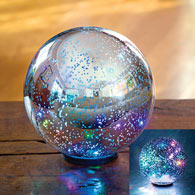 Color Changing Mercury Glass Ball