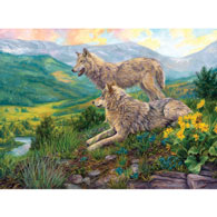 Wolf Haven 300 Large Piece Jigsaw Puzzle