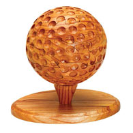 Dimensions In Wood™ Sports Puzzle - Golf Ball