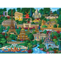 Paris 1000 Piece Jigsaw Puzzle