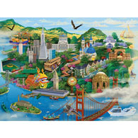 San Francisco 1000 Piece Jigsaw Puzzle