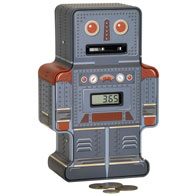 Tin Robot Counting Bank