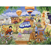 Balloon Rides 300 Large Piece Jigsaw Puzzle