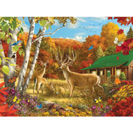 Somewhere In A Field III 500 Piece Giant Jigsaw Puzzle