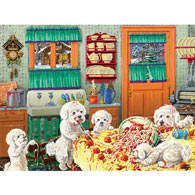 Dog Gone Good Pasta 500 Piece Jigsaw Puzzle