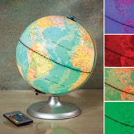 Remote Control Color Changing Globe