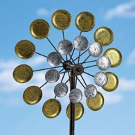 Suns And Moons Orbiting Wind Spinner 60""