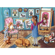 The Artist 1000 Piece Jigsaw Puzzle