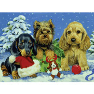 Snow Puppies 1000 Piece Jigsaw Puzzle