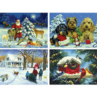 Set of 4: Linda Picken 1000 Piece Jigsaw Puzzles