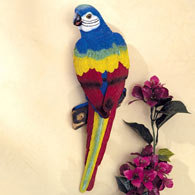 Motion Sensor Parrot Garden Sculpture