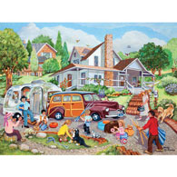 Departure Day 500 Piece Jigsaw Puzzle
