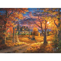 Thanksgiving 300 Large Piece Jigsaw Puzzle