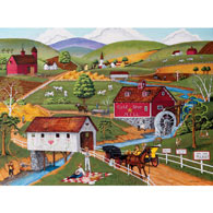 Over Yonder 300 Large Piece Jigsaw Puzzle