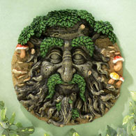 Green Man 3D Wall Art