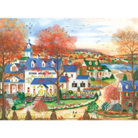 Sunflower Farm 300 Large Piece Jigsaw Puzzle