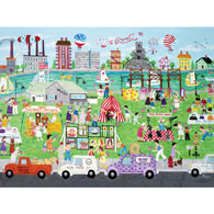 Assembly Row Flea Market 500 Piece Jigsaw Puzzle
