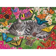 Blanket Of Butterflies 500 Piece Jigsaw Puzzle