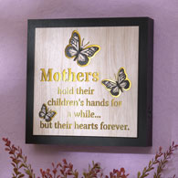Mother Lighted Sentimental Frame