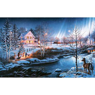 All Is Bright 500 Piece Glow-In-The-Dark Jigsaw Puzzle