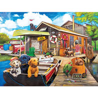 Gone Fishing 500 Piece Giant Jigsaw Puzzle