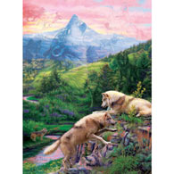 Hidden Wolves Valley 1000 Piece Jigsaw Puzzle