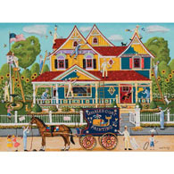 Painted Lady 500 Piece Jigsaw Puzzle
