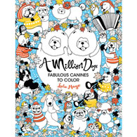 A Million Dogs Colouring Book