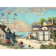 Percy A. Nelson Scrimshaw 300 Large Piece Jigsaw Puzzle