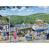 Bowness Pier, Windermere 500 Piece Jigsaw Puzzle
