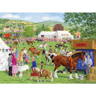 The Grand Horse Show 1000 Piece Jigsaw Puzzle