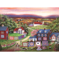 Crazy For Quilts 300 Large Piece Jigsaw Puzzle
