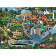 New Orleans 1000 Piece Jigsaw Puzzle
