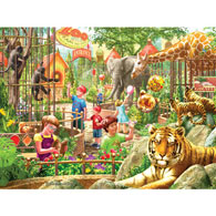 Zoo Day 500 Piece Jigsaw Puzzle