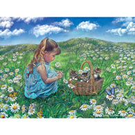 He Loves Me, He Loves Me Not 500 Piece Jigsaw Puzzle