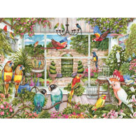 Bird House 300 Large Piece Jigsaw Puzzle