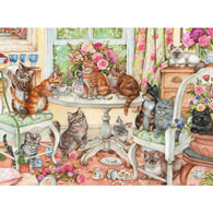 Making Mischief 300 Large Piece Jigsaw Puzzle