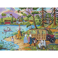 Lakeside Picnic 1000 Piece Jigsaw Puzzle