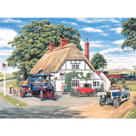 Delivery At The Railway Inn 300 Large Piece Jigsaw Puzzle