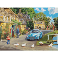 By The Brook 300 Large Piece Jigsaw Puzzle