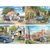 Set of 4: Trevor Mitchell 300 Large piece Jigsaw Puzzles