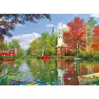 Lakeside Reflection 1000 Piece Jigsaw Puzzle