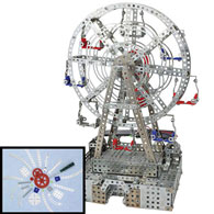 Solar Powered Ferris Wheel