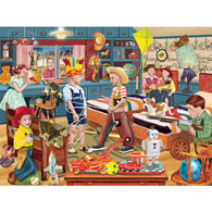 Little Cowboy's Sixth Roundup 500 Piece Jigsaw Puzzle
