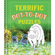 Terrific Dot To Dot Puzzles Book