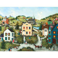 Old Dog Livery 500 Piece Jigsaw Puzzle