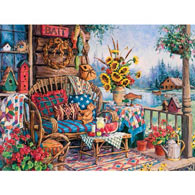 The Lodge 500 Piece Jigsaw Puzzle