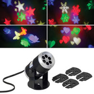 Projection LED Lamp With 4 Changeable Disks